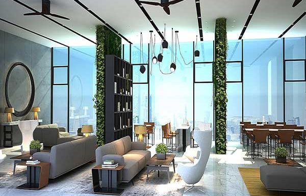 AQ-ARIA-ASOKE-Bangkok-condo-for-sale-lobby-and-librery